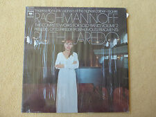 Rachmaninoff - Complete Piano Works - R.Laredo - CBS Masterworks Stereo (01316)