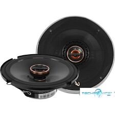 """INFINITY REF-6522EX PAIR 330W 6.5"""" 2-WAY REFERENCE SHALLOW MOUNT CAR SPEAKERS"""