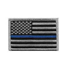 Rectangle Embroidery Flag Tactical Patch Armbands Shoulder Badge Straps HOT