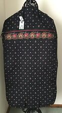 "Vera Bradley Retired PETIT POINT Garment Bag Floral 22 x 45"" Carry On Travel"