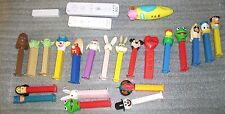 PEZ CANDY DISPENSERS LOT OF 25 /VINTAGE /RARE /COLLECTIBLE