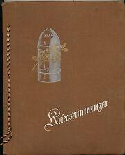 Kriegserinnerungen Album - Artillerie-Regiment Nr. 42 - im Osten 144 Fotos