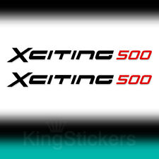 2 ADESIVI Kymco XCITING 500 sticker decal moto stickers