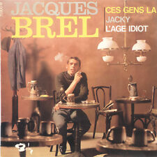 JACQUES BREL Ces Gens La FR Press Barclay 70900 EP