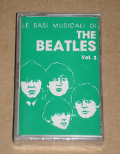 LE BASI MUSICALI DI THE BEATLES VOL. 3 - MUSICASSETTA MC SIGILLATA (SEALED)