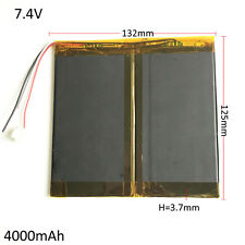 7.4V 4000mAh LiPo combine Rechargeable Battery For Tablet PC Laptop PAD 3766125
