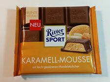 Ritter Sport  - KARAMELL-MOUSSE  - 3.5oz - 100g - MADE IN GERMANY - BEST PRICE