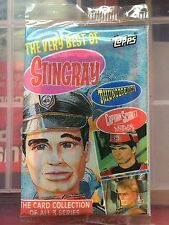 The Very Best Stingray Thunderbirds & Captain Scarlet empty pack Gerry Anderson