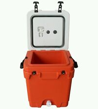 SALE*AGED INVENTORY*20QT*Frostbite cooler/Water Cooler Orange&White Free Ship