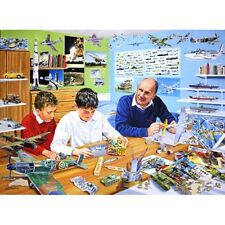 Souvenir nostalgique carte de vœux avions maquettistes