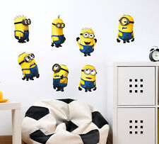 Wall Stickers Minions With Several Expressions Kids Room 57000201