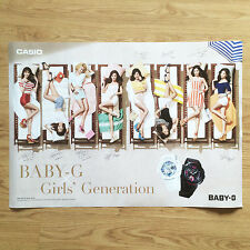 Girls' Generation (SNSD) x CASIO Baby-G Official Promotional Poster in Tube