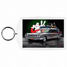 Ghostbusters Car ECTO-1 Glass KEYCHAIN / ORNAMENT #3