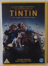 TIN TIN / THE SECRET OF THE UNICORN / STEVEN SPIELBERG / REGION 2 PAL / SEALED