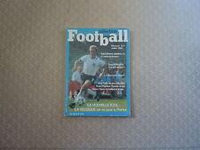 Sélection Football N°09 - La nouvelle R.F.A.-  La Belgique un os pour la France