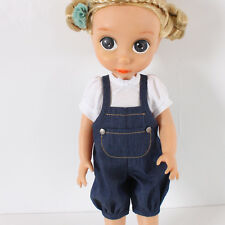 Disney Baby Doll Clothes / Overalls Suits / Animator's Princess 16 inch