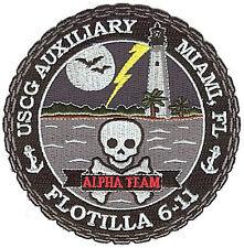 Auxiliary Flot 6-11 Ateam FL lg W4690 Coast Guard patch