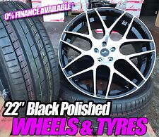 22 Inch Range Rover Alloy Wheels & Tyres (bmw,x5,sport,vogue,hse,land rover)