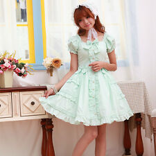 Cosplay Lolita Sweet Love Cute Kawaii Princess Dress (Mint Green)