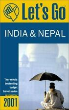 Let's Go 2001: India & Nepal: The World's Bestselling Budget Travel Series