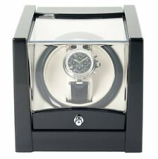 1x Black Time Tutelary Dual Watch Winder KA079 For Single Automatic watches uk