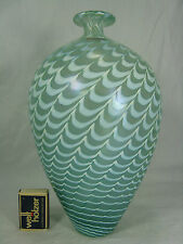 Beautiful Kosta Boda Bertil Vallien art glass vase / Schöne  Glas vase  27 cm