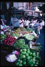 147033 Bangkok Food Stands A4 Photo Print