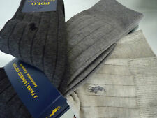 "MEN""S AUTHENTIC RALPH LAUREN 3PKT SOCKS BNWT RRP £29.95"