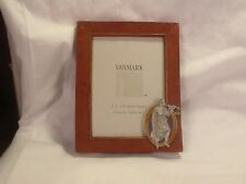 "NIB Vanmark Defenders of Justice 3 1/2"" X 5"" Photo Size Frame"