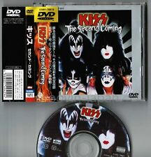 KISS The Second Coming JAPAN JEWEL CASE SIZE DVD COBY-70019 w/OBI+14p PS BOOKLET
