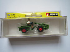 MODEL RAILWAYS - NEW BOXED HO GAUGE NOCH  16750 2 WHEEL TRACTOR SCALE 1/87