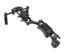 FILMCITY Shoulder Mount Rig Rods with weights For DSLR Video Matte box