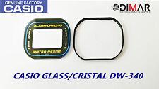 VINTAGE GLASS CASIO DW-340 NOS