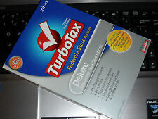 2008 TurboTax Deluxe Federal with STATE New CD sealed in retail Box !