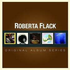 ROBERTA FLACK 5CD NEW First Take/Quiet Fire/Killing Me Softly/Feel Like/Blue