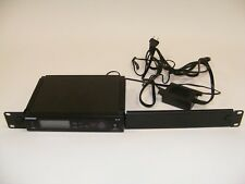 SHURE SLX4 WIRELESS RECEIVER H5 518-542 MHZ WITH RACKMOUNT AND POWER SUPPLY