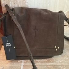 GORGEOUS JEROME DREYFUSS VERT DE GRIS GOATSKIN IGOR CROSSBODY BAG - NWT!!!