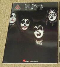 KISS 1st LP GUITAR TAB SONGBOOK NEW