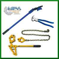 COMPLETE FENCING SOLUTION, WIRE TENSIONER, CHAIN STRAINER & FENCING PLIERS