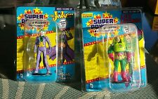 DC Super Power Micro Figures Line Lot of 2 Lex Luther & The Joker