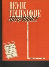 (28A) REVUE TECHNIQUE AUTOMOBILE CITROEN H-HZ-HY / SIMCA VEDETTE