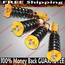 GOLD 88-91 Honda Civic 90-93 ACURA INTEGRA Full Coilover Suspension Lower Kit