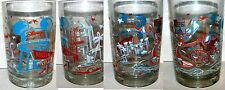 Walt Disney World MGM 25th Anniversary Glass from Mcdonald's MINT UNUSED w bag