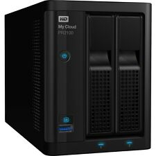 Wd 12tb My Cloud Pr2100 Pro Series Media Server With Transcoding, Nas - Network