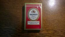 Vintage Drewrys Beer Remembrance Playing Card Germ Proofed by COROBEX Bridge NOS
