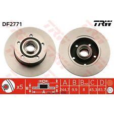 Disque de frein, 1 unités trw df2771
