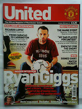 No 121 Manchester United Official Magazine October 2002