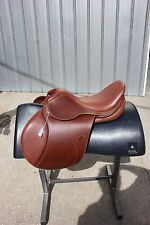 "36-9 Spirig 17.5"" Rider English saddle 30 medium/wide tree"