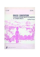 BRASS CONVENTION 2ND PART IN Bb BRASS QUARTET BOOK TRUMPET TROMBONE SONG BOO NEW