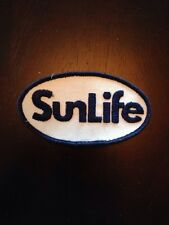 """SunLife Financial Insurance Sew On Patch 3.5"""" Sun Life Embroidered"""